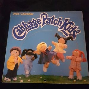1985 vintage Cabbage Patch Kids calender